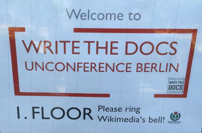 Welcome to WTD Berlin Unconf